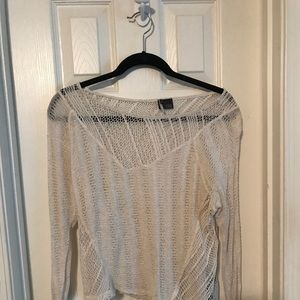 Urban outfitters mesh sweater
